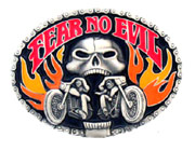 Fear No Evil Buckle